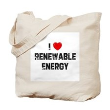 I * Renewable Energy Tote Bag