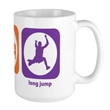 Eat Sleep Long Jump Mug