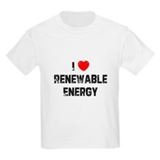 I * Renewable Energy Kids T-Shirt