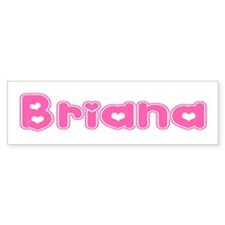 """Briana"" Bumper Car Sticker"
