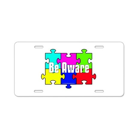 Autism License Plates and License Plate Frames   Autism Awareness Gear