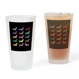 Cute Colors Drinking Glass