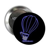 "Kokopelli Hot Air Balloonist 2.25"" Button (100 pac"