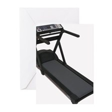 Treadmill Greeting Cards (Pk of 10)