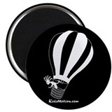 Kokopelli Hot Air Balloonist Magnet