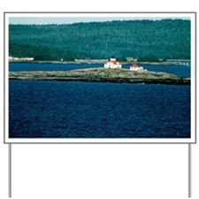 Egg Rock Lighthouse, Frenchman Bay Yard Sign