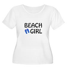 Beach Girl Plus Size T-Shirt