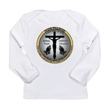 Pope Francis Long Sleeve Infant T-Shirt