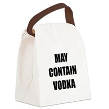 Contain Vodka Canvas Lunch Bag