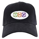 Eat Sleep Skate Baseball Cap