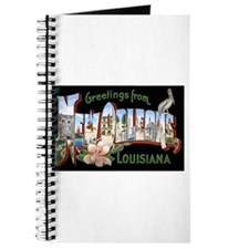 New Orleans Louisiana Greetings Journal