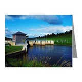 Raised water level of Lough  Note Cards (Pk of 20)