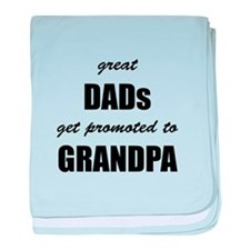 Great Dads baby blanket
