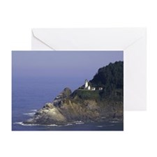 Heceta Head Lighthouse   Greeting Cards (Pk of 20)
