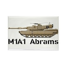 M1A1 Abrams - Desert Rectangle Magnet (10 pack)