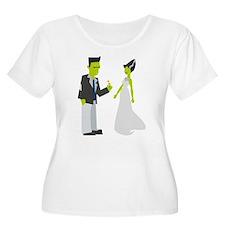 Frankenstein & Bride Plus Size T-Shirt