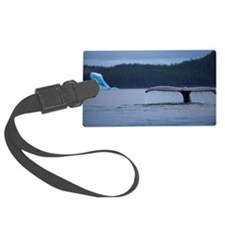 Humpback Whale and Iceberg, Alas Luggage Tag