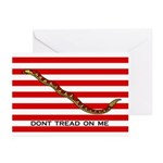 Navy Jack Flag Greeting Cards (6)