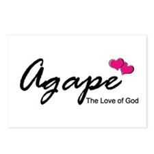 Agape Love Postcards (Package of 8)