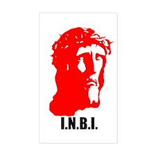 I.N.B.I Rectangle Decal