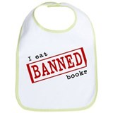 """I eat banned books"" Bib"
