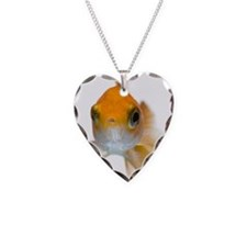Goldfish cutout Necklace