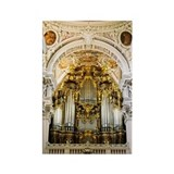 Pipe organ in Passau Cathedral, P Rectangle Magnet