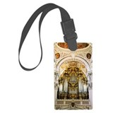 Pipe organ in Passau Cathedral,  Luggage Tag