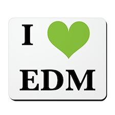 I heart EDM Mousepad