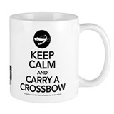 Keep Calm Carry a Crossbow Coffee Mug