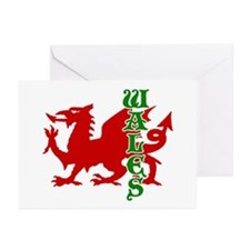 Wales Greeting Cards (Pk of 10)