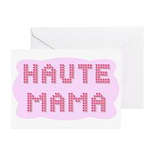 """Haute Mama"" Greeting Cards (Pk of 10)"
