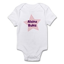 Alaina Rules Infant Bodysuit