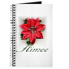 Poinsettia Aimee Journal