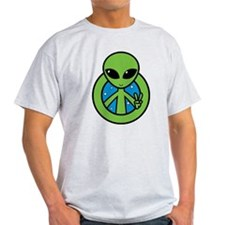 peace_alien T-Shirt