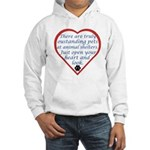 Open Your Heart Hooded Sweatshirt
