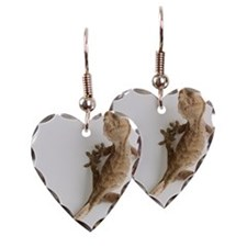 Crested gecko lizard Earring