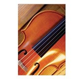 Close-up of violin Postcards (Package of 8)