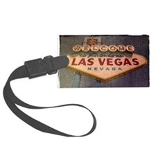 Welcome to Las Vegas sign Luggage Tag