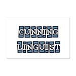 Cunning Linguist Mini Poster Print