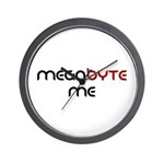 Megabyte Me Wall Clock