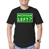 Michigan Left? Ash Grey T-Shirt