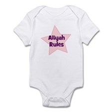 Aliyah Rules Infant Bodysuit