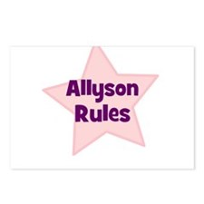 Allyson Rules Postcards (Package of 8)