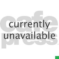 Mud splashed car 20x12 Oval Wall Decal