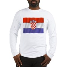 Pure Flag of Croatia Long Sleeve T-Shirt