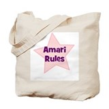 Amari Rules Tote Bag