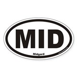 Midgard MID Euro Oval Decal