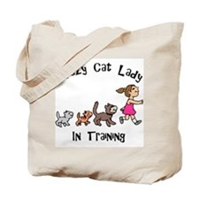 Crazy Cat Lady In Training Tote Bag