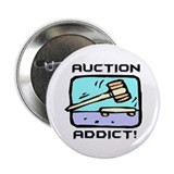"Auction Addict 2.25"" Button (10 pack)"